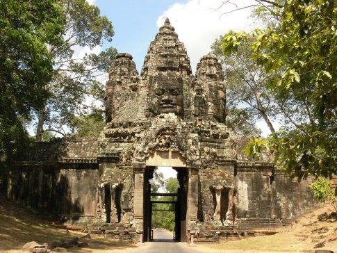 East Victory Gate(Angkor Thom)  (2)