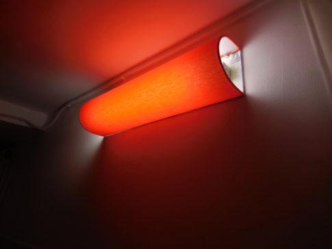 ムーディーな間接照明に変身です